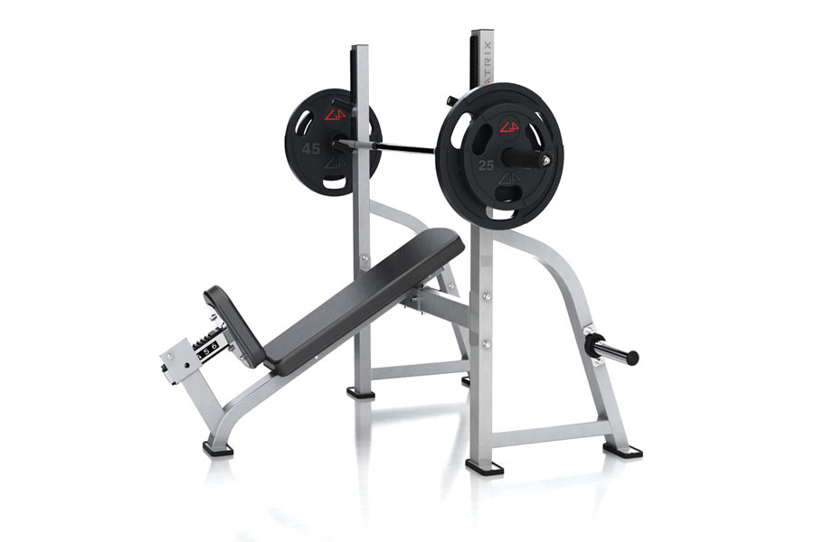 Olympic Incline Bench Salle de Sport Bordeaux