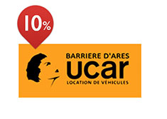 10% de réduction à Ucar Barriere d'Ares