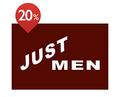 20% de réduction à Just Men Bordeaux Centre