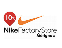 10% de réduction à Nike Factory Merignac