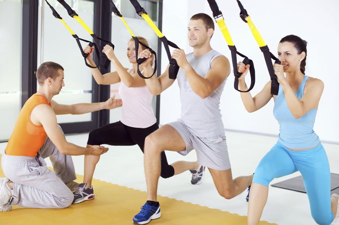 Team Training TRX à Bordeaux